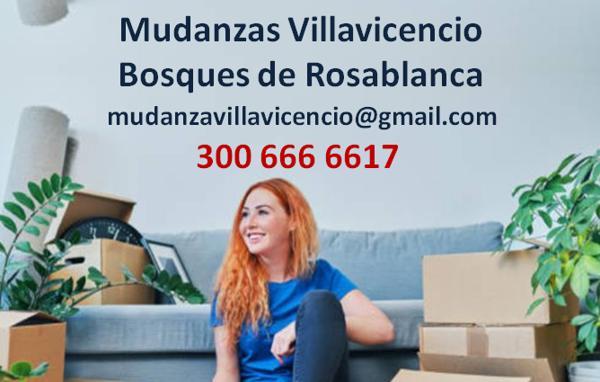 Mudanzas Bosques de Rosablanca Villavicencio